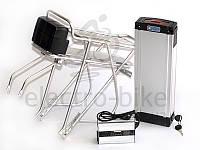 Аккумуляторная батарея для электровелосипедов LiNiCoMnO2 36V 17Ah с багажником, фото 1
