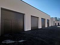 Промислові ворота серії  Alutech ProPlus ширина 3000*висота3000
