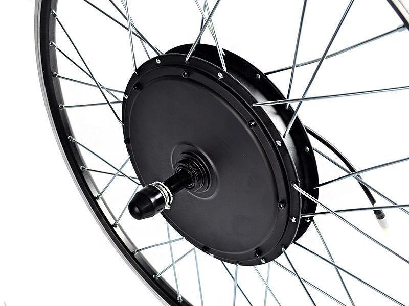 Заспицованное безредукторное мотор-колесо MXUS XF40 48В 750Вт заднее