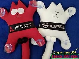 Кот Саймона - стильная игрушка в автомобиль (на присосках)
