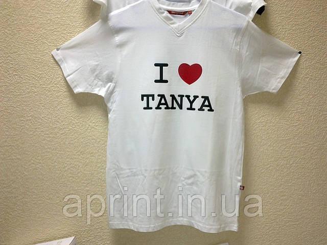 Любое изображение, логотип, фото, на футболке