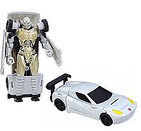Трансформер-автобот Когман в 1-шаг, 10 cм - Cogman, One step, Turbo Changer, TF5, Hasbro, фото 1