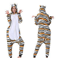 Пижама кигуруми Взрослая Кот Тигровый