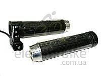 Ручка акселератора скутерная с индикацией и кнопкой 162X напряжение 48Вольт