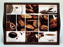 """Поднос на подушке, с ручками """" Coffee """" 6021-6"""