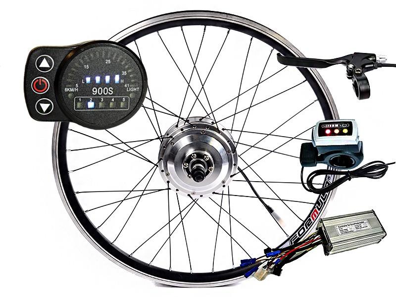 Электронабор для велосипеда MXUS XF04-XF05 с LED