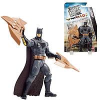 "Фигурка Бэтмен и щитовые когти из к/ф ""Лига Справедливости"" - Batman, Claw Shileds, DC Comic, Mattel, фото 1"