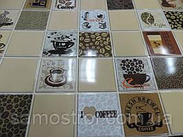 Пластиковая панель кофе