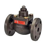 Сідельний регулювальний 2-х ходовий клапан VB2 DN32 фланцевий(застосовується з ел.пр. AMV(E)10/20/30/13/23/33)