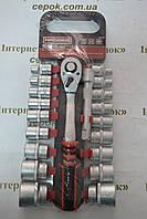 Набір головок HAISSER 8-32мм, з трісчаткою та подовжувачем