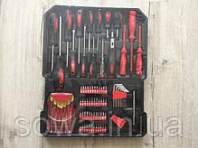 ✔️ Чемодан инструментов, ключей LEX 186CC-2 186 предметов, фото 3