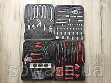 ✔️ Чемодан инструментов, ключей LEX 186CC-2 186 предметов, фото 2