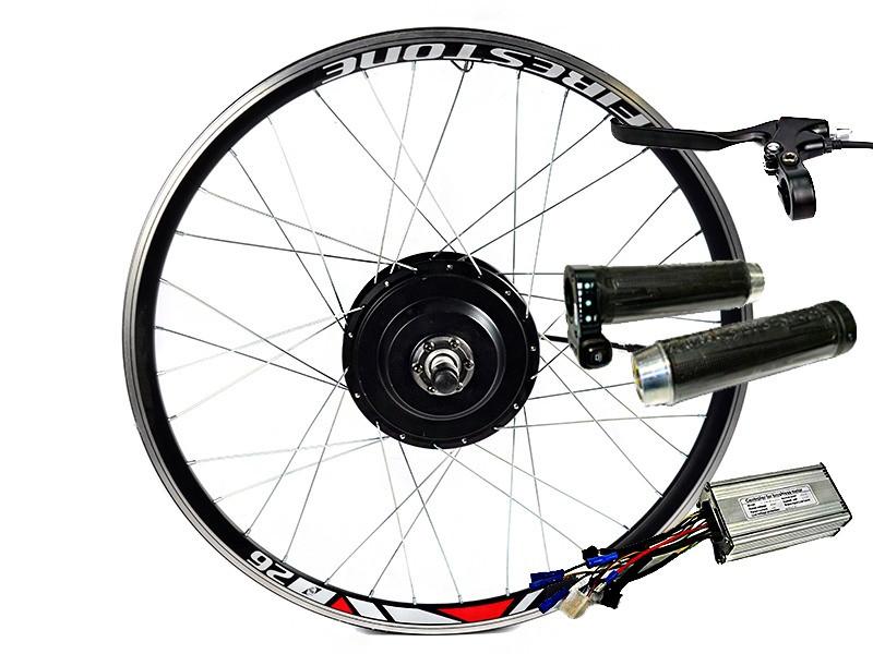 Электровелонабор 48В 500Вт MXUS MX01F - MX01R - MX01C