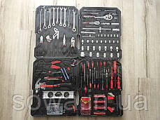 ✔️ Набір ключів LEX 186CC-2 | 186 шт | C45 інструментальна сталь і Cr-V хром-ванадый, фото 2