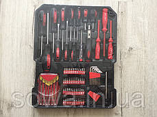 ✔️ Набор ключей LEX 186CC-2  | 186 шт | C45 инструментальная сталь и Cr-V хром-ванадый, фото 3