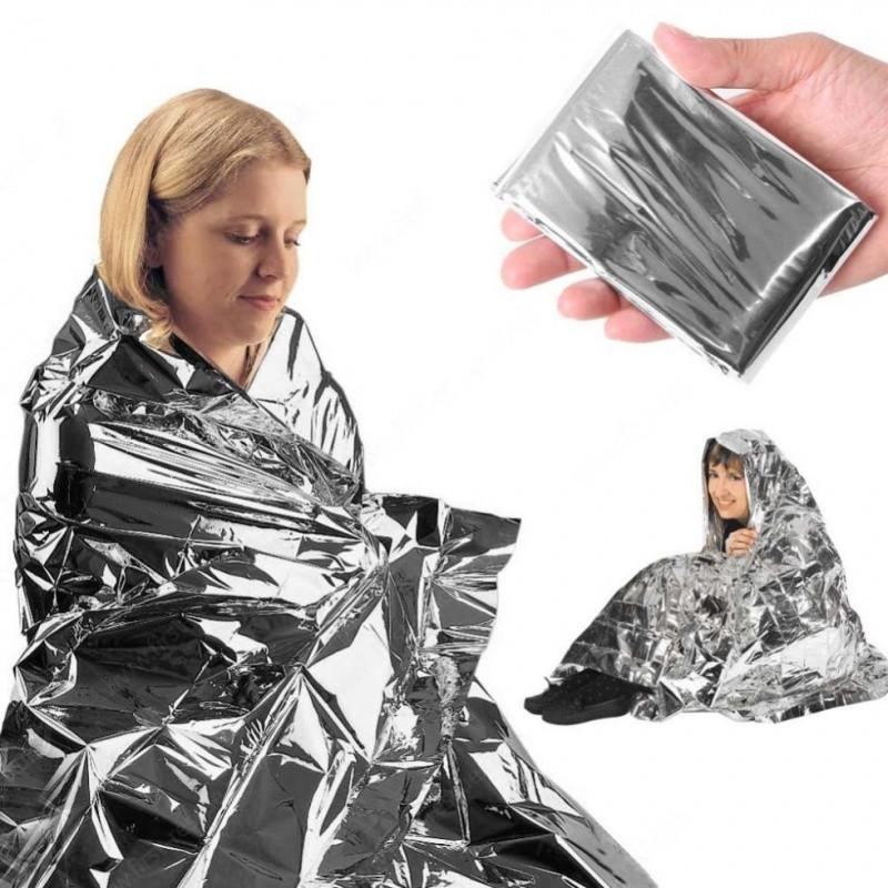 Термопокривало Tramp (160см х 210см) TRA-238. Термо одеяло. Рятувальне покривало. Термоковдра