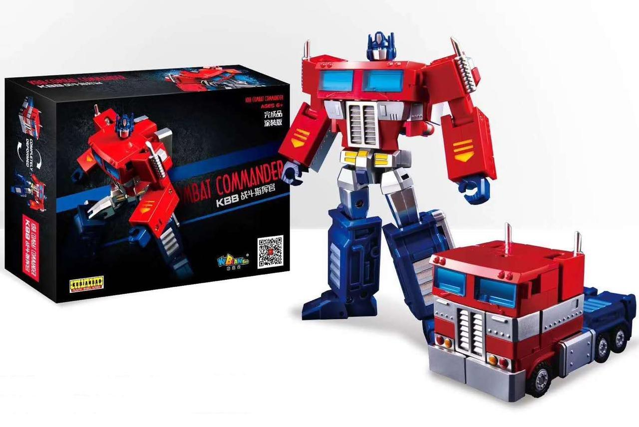 Трансформер Оптимус Прайм, Командор, KuBianBao, 12 см  - Kombat Commander Optimus Prime