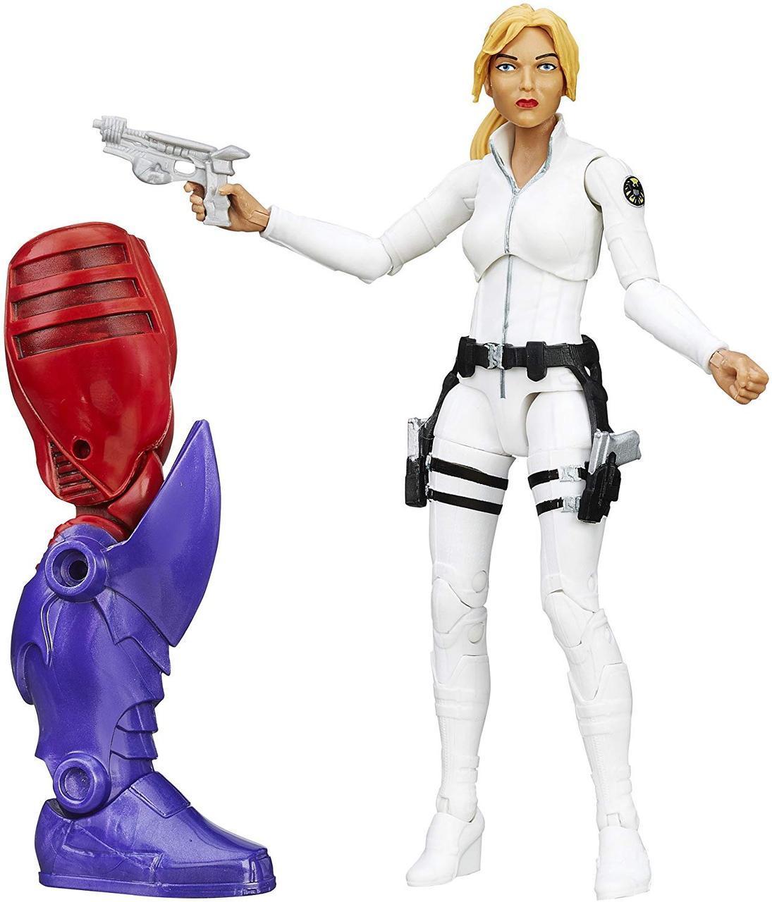Фигурка Hasbro Шэрон Картер, Легенды Марвел 15 см - Build a Figure, Red Skull Series, фото 1