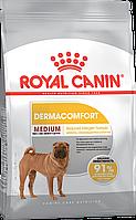 Royal Canin (Роял Канин) Medium Dermacomfort для собак средних пород с чувствительной кожей, 10кг.