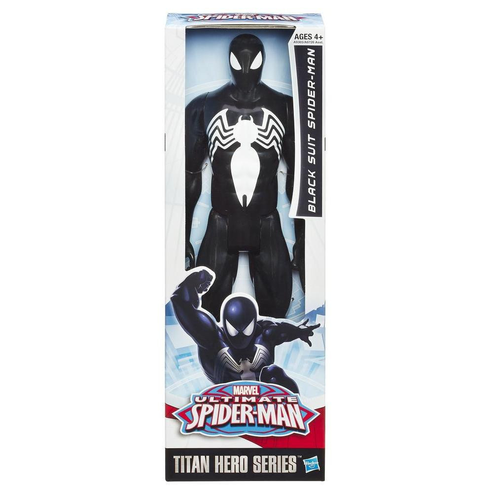 Большая игрушка Человек-Паук (Веном) 30 см, серия Титаны - Spider-Man Black Suit, Titans, Hasbro