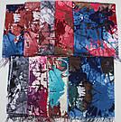"""Палантин шарф с абстракцией Eyfel """"Летиция"""" 136-7, фото 3"""