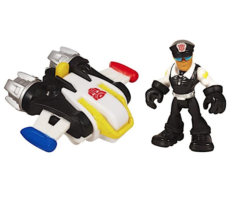 "Джек Трекер с реактивным ранцем ""Боты спасатели"" - Billy&Jet Pack, Rescue Bots, Hasbro"