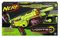 Пистолет-бластер со светящимися пулями - Vortex Lumitron, Nerf, Hasbro, фото 1