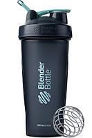 Спортивный шейкер BlenderBottle Classic Loop 820ml Special Edition Glacier Black-Agua, Original (145715)