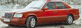 """Ветровики, дефлекторы окон Mercedes Benz E-klasse sedan (W124) 1984-1995 """"VL-Tuning"""""""