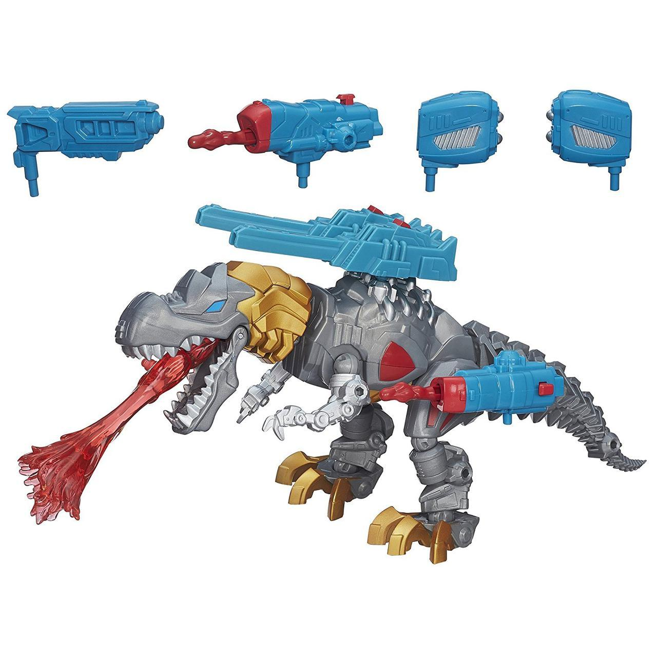 Игрушка-конструктор Гримлок с подсветкой - Electronic Grimlock, Mashers, Hasbro, фото 1