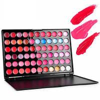 Палитра помад помады 66 цветов MAC - блески  Mac Cosmetics 66 оттенков