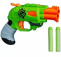 "Пистолет Нерф ""Двойной удар по зомби"" - Double Strike, Zombie Strike, Nerf, Hasbro, фото 1"