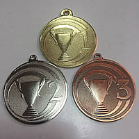 Медаль М50-5 (1/2/3) 50мм
