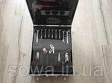 ✔️ Чемодан инструментов, ключей AL-FA 186 шт, фото 2
