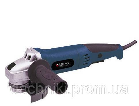 Угловая шлифовальная машина(болгарка) МИАСС УШМ 1100/125 (длинная ручка)