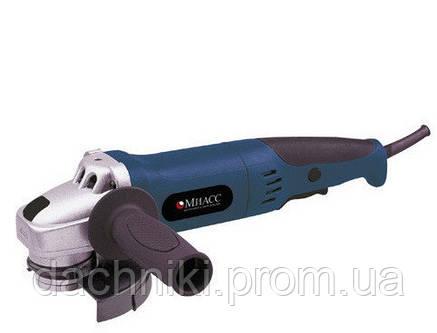 Угловая шлифовальная машина(болгарка) МИАСС УШМ 1100/125 (длинная ручка), фото 2