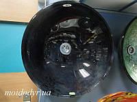 Умывальник стеклянный круглый 420 мм (ночь), фото 1