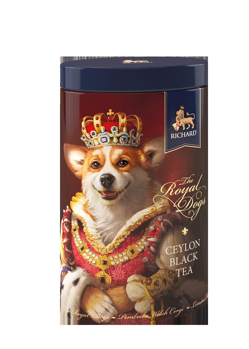 Чай черный цейлонский классический листовой RICHARD ROYAL DOGS 80 г