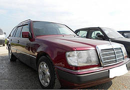 "Ветровики, дефлекторы окон Mercedes Benz E-klasse Wagon (universal) (S124) 1984-1996 ""VL-Tuning"""