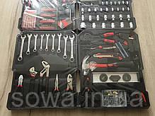✔️ Универсальный набор инструментов в чемодане 186 предметов Al-fa, фото 2