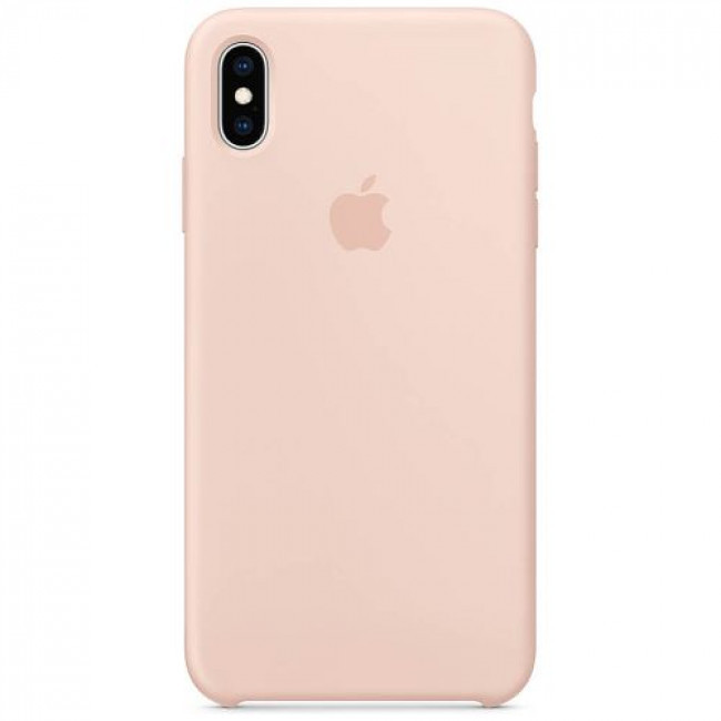 """APPLE SILICON CAS APPLE SILICON CASE IPHONE XS/XS MAX """"PINK SAND"""""""