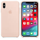 """APPLE SILICON CAS APPLE SILICON CASE IPHONE XS/XS MAX """"PINK SAND"""", фото 2"""