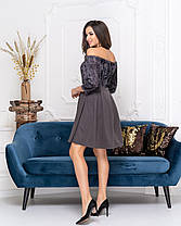 Сукня коктейльне в кольорах 04ат41378, фото 3