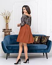 Платье коктейльное в расцветках 04ат41378, фото 2