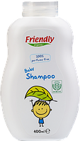 Органический детский шампунь-гель Friendly organic без запаха 400 мл