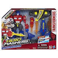 Электронно-разборная фигурка Оптимус Прайм - Optimus Prime, Electronic, Hero Mashers, Hasbro, фото 1