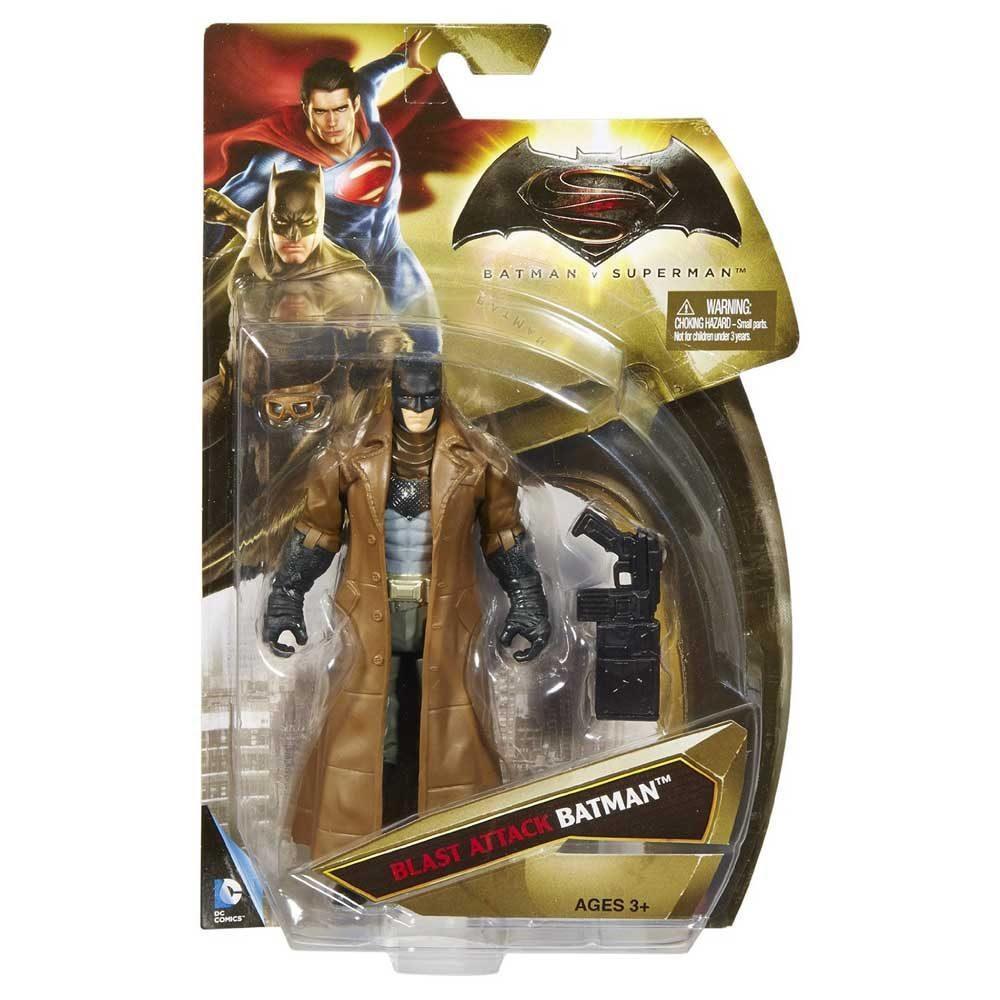 "Фигурка Бэтмен и звуковая пушка из к/ф ""Бэтмен против Супермена"" - Batman, Blast Attack, DC Comic, Mattel 6"