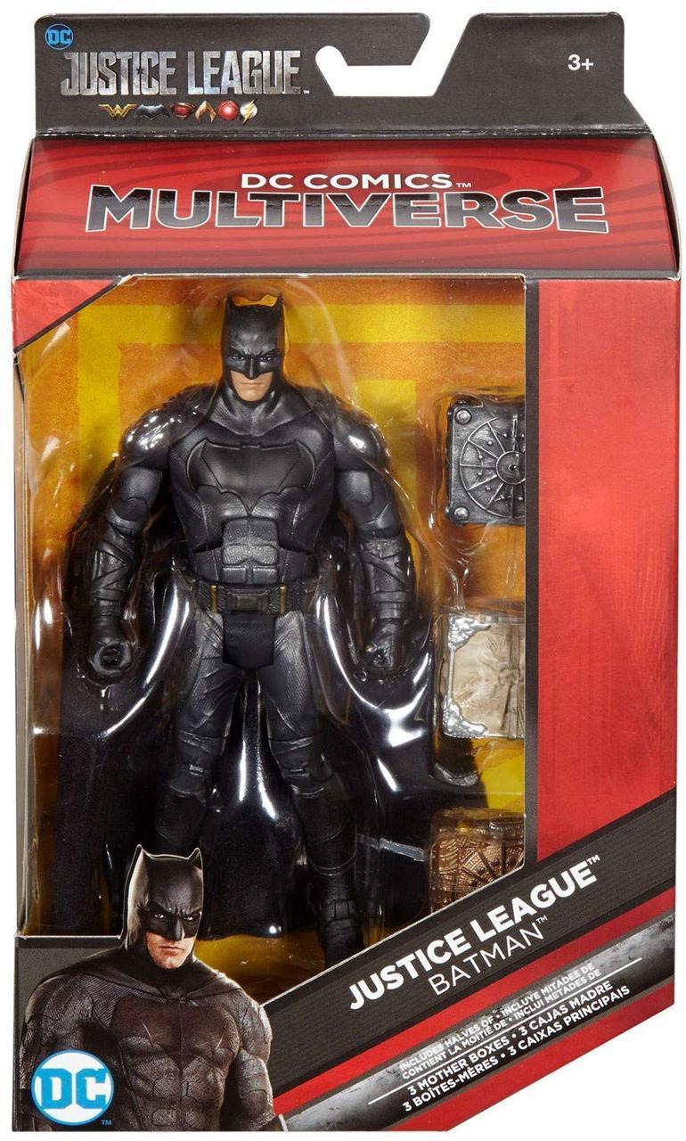 "Фигурка Бэтмен и Материнские ящики из к/ф ""Лига Справедливости"" - Batman, Mother Boxes, DC Comic, Mattel"