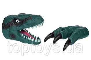 Ігровий набір Same Toy Dino Animal Gloves Toys зелений (AK68623Ut-1)