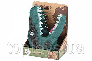 Ігровий набір Same Toy Animal Gloves Toys зелений (AK68622-1Ut2)